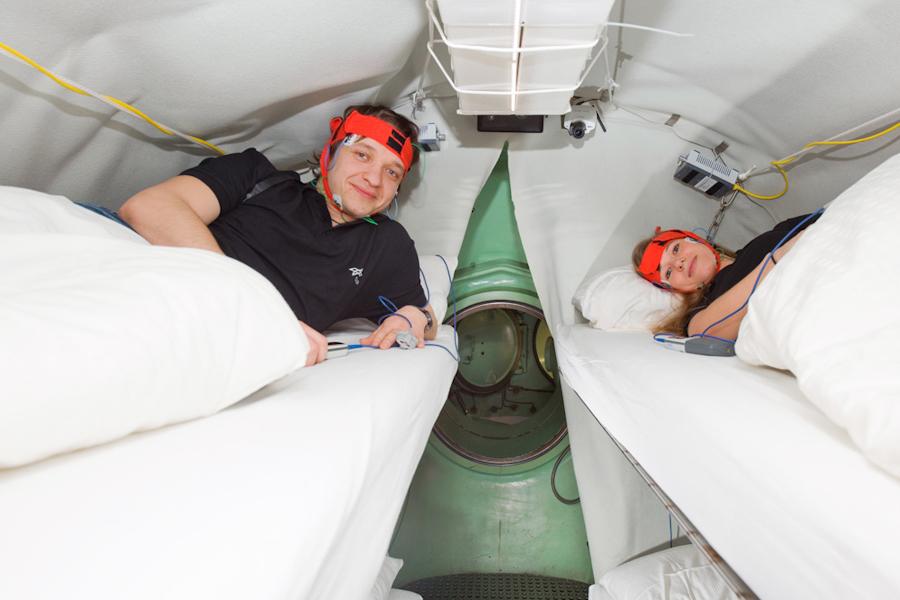 Deutsches Zentrum für Luft- und Raumfahrt Probanden für Raumfahrtmedizin
