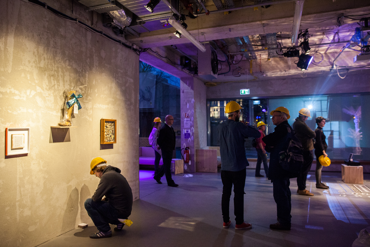 "Ausstellung ""Vollkommen Utopisch, Schaupielhaus Köln, Britney, Januar 2017"